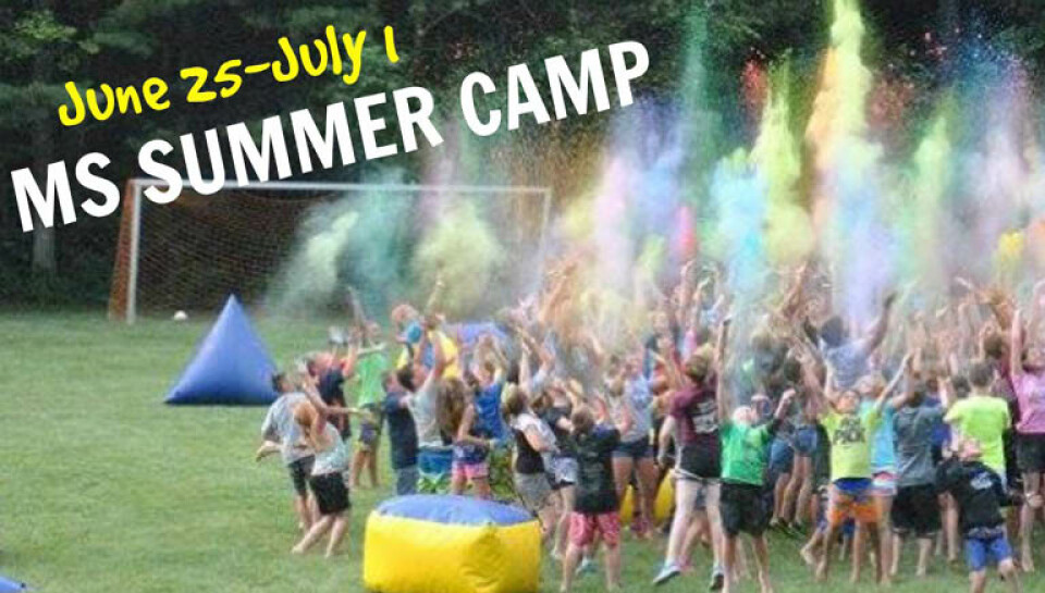 Middle School Summer Camp