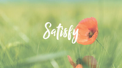 Psalm 90 | SATISFY