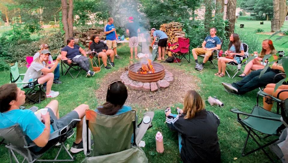 THE WALK   Backyard Hangout